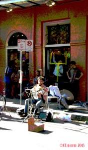 Street Musician NOLA 2013