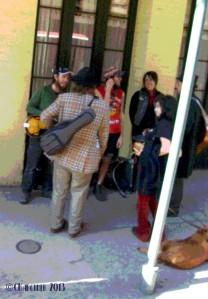 Street Performers NOLA 2013